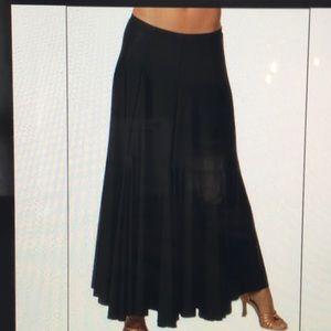Capizio long gore skirt